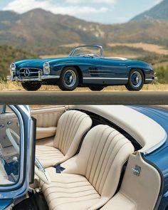 • 1957 Mercedes-Benz 300SL Roadster •