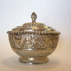 Vintage F.B. Rogers Silverplate Candy Dish by MyForgottenTreasures, $20.00