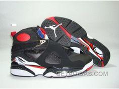 wholesale dealer aa2f3 5722c Air Jordan Retro 8 Black White Red Offres De Noël, Price   68.00 - Adidas  Shoes,Adidas Nmd,Superstar,Originals