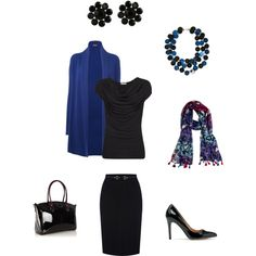 """""""True Winter Dramatic Classic 10 pieces # 9"""" by sm137 on Polyvore"""