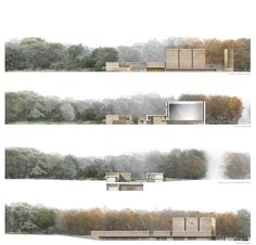 prospetti e sezioni #architecture #elevations #landscape #design #hand_rendering #renderings #sketching #sketches #drawings #paysage #dessins #dibujos