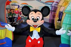 Nothing can compare to the joy on a child's face the first time they meet Mickey Mouse.
