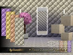 The Sims Resource: Faux Diamond Leather • Sims 4 Downloads