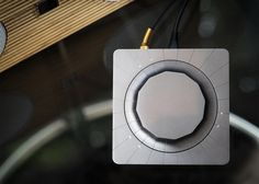 Gadi Amit's Beep device syncs to any speaker in the home.