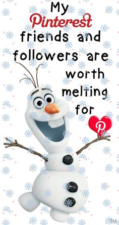 My Pinterest friends and followers are worth melting for! I share my pins so pin all you want from my boards  <3 Tam <3