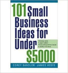 101 Small Business Ideas Under $5000 By Corey Sandler (E-Book)