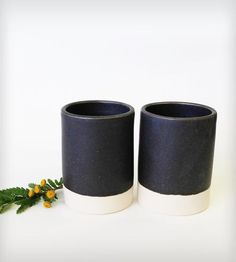 Oslo Ceramic Tumblers - Set of 2 | Home Kitchen & Pantry | Paper & Clay | Scoutmob Shoppe | Product Detail