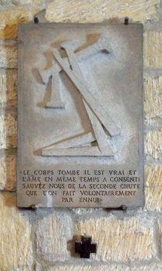 Zack, Léon, chemin de croix, station 7, 1941, casnac, blogspot