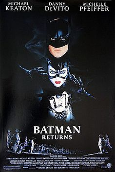 Batman Returns 1992 Original US One Sheet Movie Poster