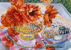 janet fish | Still Life Painting by Janet Fish American Painter ~ Blog of an Art ...