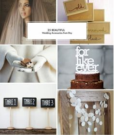 Poppytalk: 25 Beautiful Wedding Accessories from Etsy