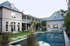 Preston Custom Homes - Dallas, Texas - General Contractor Building Firm    Backyard Escape