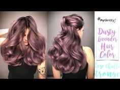 Purple and Lavender Hair Color Melt Tutorial - Featuring Brian Haire - YouTube