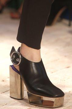 Celine Spring 2014 Mirrored Heels