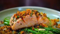 Alex & Emily's Crispy Skin Salmon with Poor Man's Parmesan | My Kitchen Rules