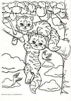 Online Lisa Frank coloring pages