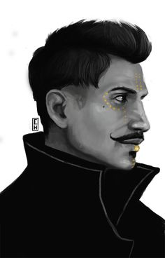 Hyteri's Art, Tevinter Dorian.  Less than 2 hours of Painting....