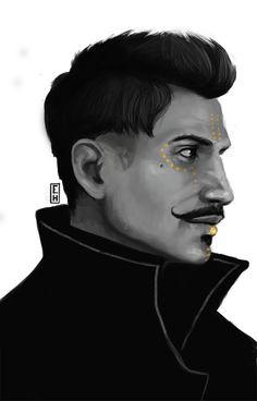 Hyteri's Art, Tevinter Dorian. Less than 2 hours of Painting....