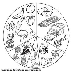 Junk Food Coloring Page Download Print Online Coloring Pages