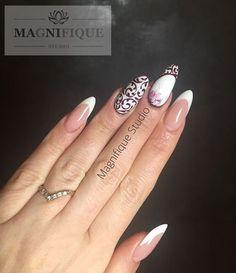 #frenchnails #frenchnägel #bialepaznokcie #nägel #weissenägel #frenchsculpture #almondnails #wzorkinapaznokcie#wzorkireczniemalowane #wzorkinapaznokciach #nails #naildesign #nailart #zdobieniepaznokci #schönenägel #beautifulnails #