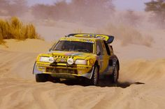 """Paris Dakar Peugeot 205 turbo 👇The most interesting rally cars. 👁👁 Check us out…"""" Road Race Car, Off Road Racing, Race Cars, Red Bull, Karting, Toyota Land Cruiser, Nascar, R5 Alpine, Sport"""
