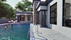 5 Bedroom House Plan – My Building Plans South Africa Split Level House Plans, Single Storey House Plans, Square House Plans, Metal House Plans, My House Plans, My Building, Building Plans, Home Design Plans, Plan Design