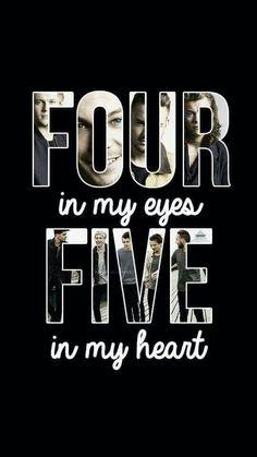 4 in my eyes 5 in my ❤