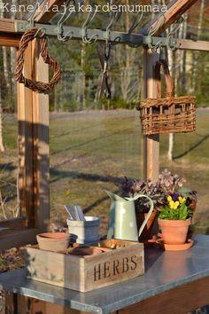 Kanelia ja kardemummaa: kasvihuone  Huhtikuu2012