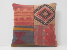 kilim rug pillow modern cushion cover by DECOLICKILIMPILLOWS