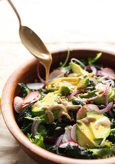 Detox Salad with No-Mix Dressing | Minimalist Baker Recipes