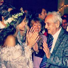 Margheritta Missoni homenageia o avô, Ottavio, morto na semana passada - http://colunas.revistaepoca.globo.com/brunoastuto/2013/05/13/margheritta-missoni-homenageia-o-avo-ottavio-morto-na-semana-passada/