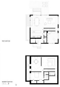 Cube House Floor Plan.