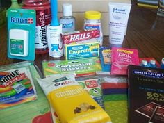 Put together a teacher survival kit for #BackToSchool.