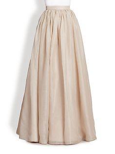 Alice Olivia | Abella Silk Chiffon Ball Gown Skirt! | Saks Fifth Avenue