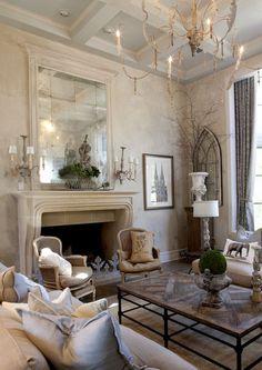 El estilo french country nos ofrece detalles con estilo y personalidad que quedarán muy bien en nuestro living o sala de estar ¿probamos?