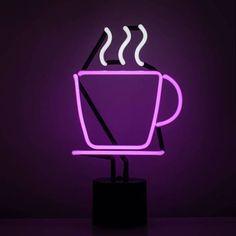 Coffee Neon Desk Light #neon #neonsign #homedecor #decor #neonlights #neonlamp #coffee