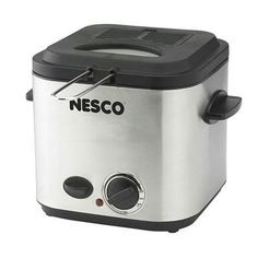 Nesco Deep Fryer 1.2l Ss