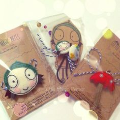 Do you recognise these? I can not believe it's been a year already making Sarah&Duck inspired toys and hair accessories ;) xoxo