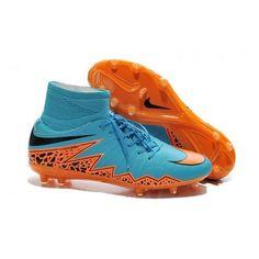 sale retailer f40f2 cf983 2017 Scarpe Calcio Nike Hypervenom Phelon II FG Uomo Blu Arancione