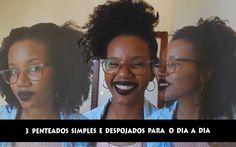 https://youtu.be/Aimy6dVXiws 3 penteados simples e despojados para o dia a dia #cabelocrespo #meninadecabelocrespo #cabelotipo4