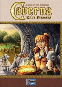 Caverna: The Cave Farmers | Board Game | BoardGameGeek rank 5 overall and 5 in strategy category. 1-7P. 30-210min.
