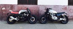 #37 - YAMAHA 600 Fazer #bfmotorcycles et BF #38 - YAMAHA 1300 XJR  #BobberFucker