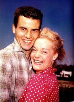 1956 - Horst Buchholz Romy Schneider, Sissi, Horst, Album Photo, Beautiful Couple, Mannequins, Couple Photos, Couples, Makeup