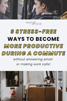 If you want to optimize your time and energy, there are ways to recharge during a commute. Ditch checking emails and making calls and do these 9 productive and restful things during your commute instead. How To Remove, How To Get, How To Plan, Productivity Hacks, Passion Project, Mindful Living, Stress Free, Getting Things Done, Time Management