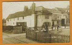The Cross Keys pub at Edmonton Green 1900's approx.