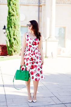 Bouquet of Roses dress on Kendi Everyday