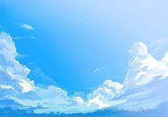 sky Scenery Background, Animation Background, Background Pictures, Fantasy Landscape, Landscape Art, Landscape Photography, Sky Anime, Relaxing Art, Episode Backgrounds