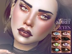 Sims 4 CC's - The Best: Spirit Eyes by Pralinesims
