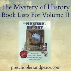 The Mystery of History Book Lists for Volume II