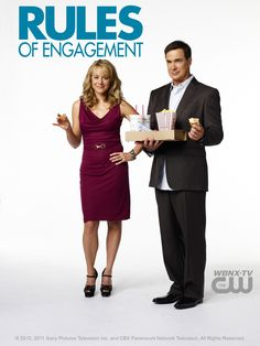 Rules of engagement season 6 Megyn Price, Patrick Warburton, Rules Of Engagement, Tv Series To Watch, Online S, Tv Series Online, Great Tv Shows, Season 3, Favorite Tv Shows